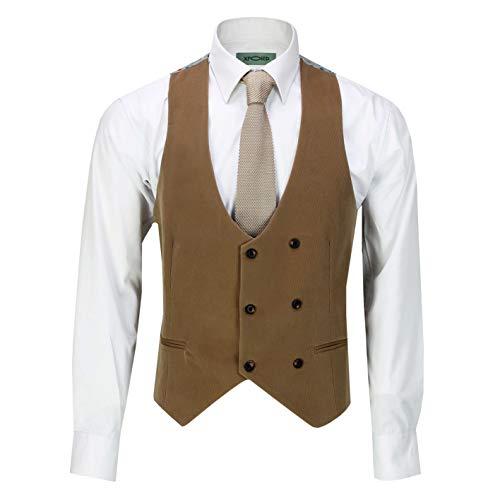 Uomo Xposed Xposed Uomo Blazer Waistcoat tan Waistcoat Blazer Uomo Blazer Xposed tan ZqZIFxnwg6