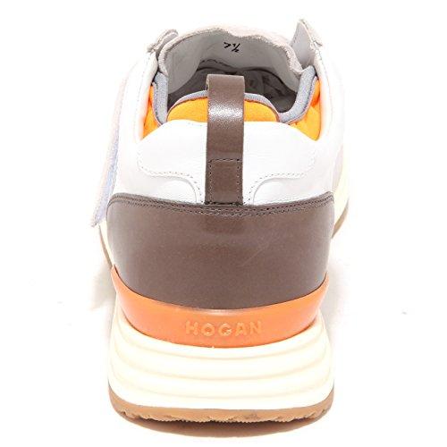 2018 Nueva Línea Barata 90281 sneaker HOGAN REBEL R218 MODELLO STRAP scarpa uomo shoes men grigio/ghiaccio/tortora En Busca De Salida AwbzH