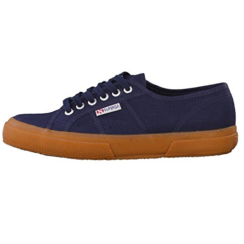 NAVY Superga Adulto Classic WHITE 2750 Cotu Unisex GUM Sneakers Y1qYFr