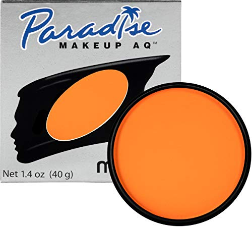 Mehron Makeup Paradise Makeup AQ Face & Body Paint (1.4 oz) (Orange)