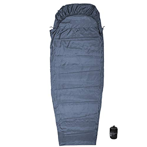 (Browint Silk Sleeping Bag Liner Hooded Mummy, Silk Sleep Sack, Lightweight Travel and Camping Sheet, Reinforced Gussets)