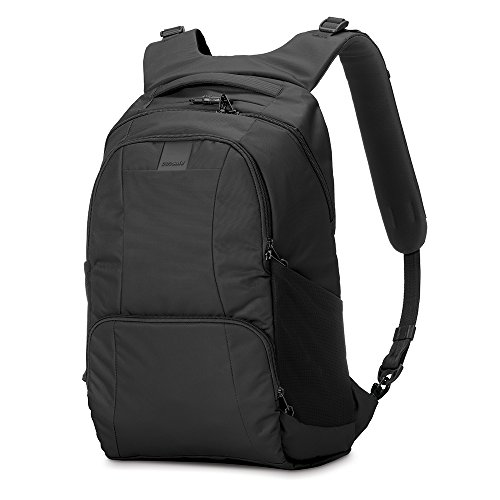 Pacsafe Metrosafe LS450 Anti-Theft 25L Backpack, Black by Pacsafe