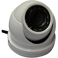 Kenuco 1080p HD TVI IR Mini Dome Camera : White, 2.8mm Lens