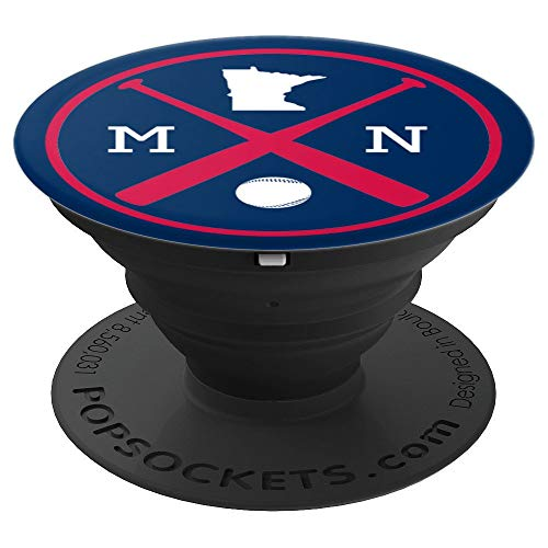 Twins Minnesota Note - Minnesota Baseball Bats Team - PopSockets Grip and Stand for Phones and Tablets