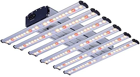 BloomGrow New Tech 1500W LED Real Full Spectrum Professional Grow Light Strips Hydroponics from Veg to Bloom for Indoor Plants Grow Actual Power 360W