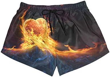 DEZIRO hart vuur vlam surfen vrouwen Breeze Boardshort zwembroek