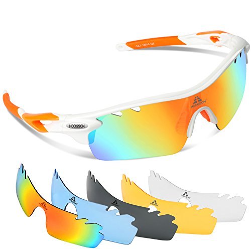 HODGSON Polarized Sunglasses Interchangeable Unbreakable