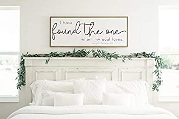 Amazon.com: DoreenAbe - Cartel de madera con marco ...