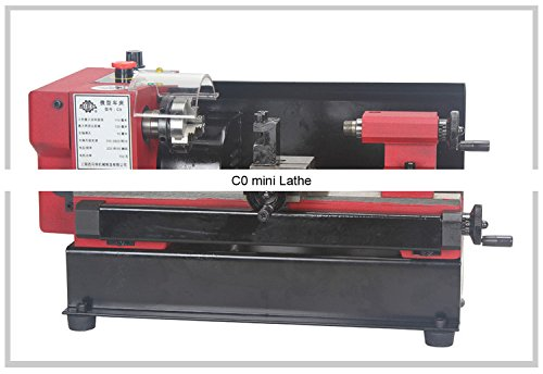 C0 mini Lathe/SIEG 150W motor+125mm working length DIY Lathe/brand Mircro metal turning machine by MUCHENTEC