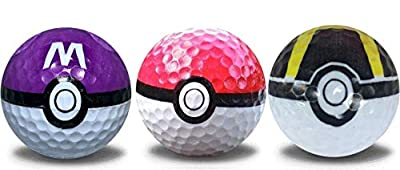 Go Balls Golf Ball Mixed 3 Pack