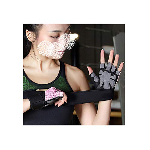 Voic-A New Women/Men Body Building Sport Fitness Gloves Exercise Weight Lifting Gloves