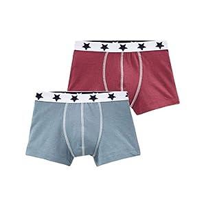 Petit Bateau Boy's Boxer Shorts (Pack of 2)