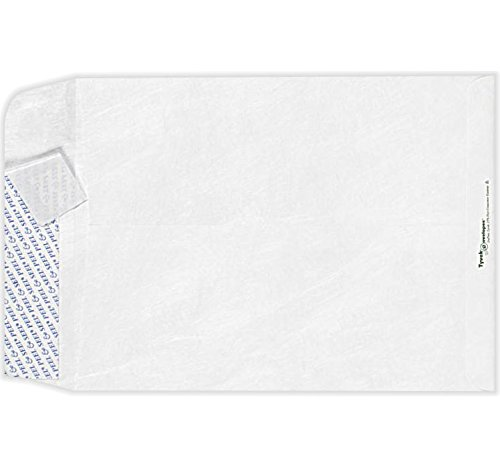 9 x 12 Open End Envelopes - 14lb. Tyvek (50 Qty.) | Perfect for mailing Documents, Catalogs, Direct Mail, Promotional Material, Brochures and More| 75852-50
