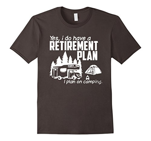 Funny-camping-shirt-for-men-and-women-Retirement-plan