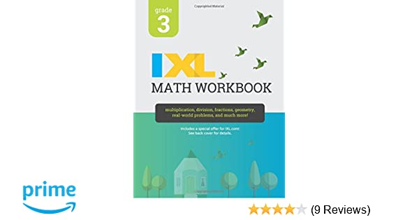 IXL Math Workbook, Grade 3: IXL Learning: 9781548655228: Amazon.com ...
