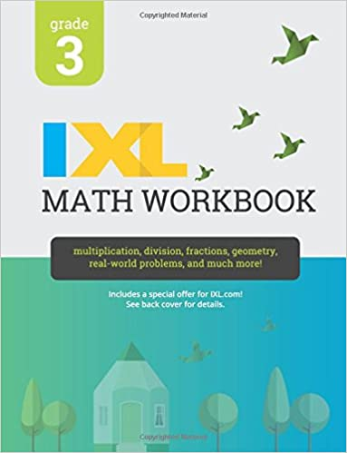IXL Math Workbook, Grade 3: IXL Learning: 9781548655228: Amazon com
