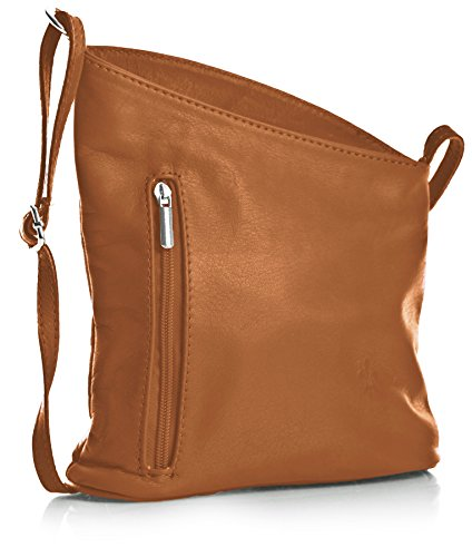 Big Handbag Shop, Borsa a tracolla donna One z** Seconds - Light Tan