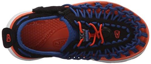 Keen Uneek O2, Zapatos de Low Rise Senderismo Unisex Niños Azul - True Blue/Koi
