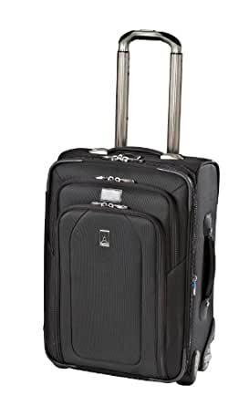 Travelpro Luggage Crew 9 20-Inch Expandable Bus Plus Rollaboard, Black, One Size