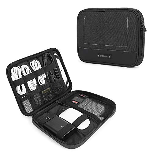 BAGSMART Electronic Organizer Travel Cable Organizer Electronics Accessories Cases for 7.9