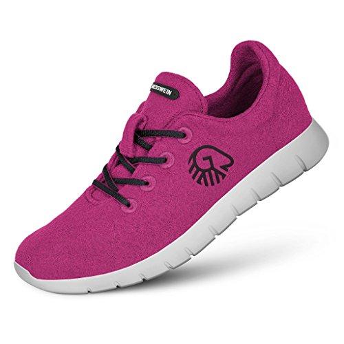Lila Women Merino Grey Runners Giesswein 4xq6XA4I