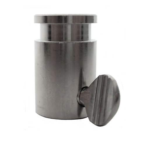 OneGrill Stainless Steel Rotisserie Spit Rod Bushing (Fits: 5/8 inch Hexagon, 1/2 Inch Square, 11/16 Inch Round)