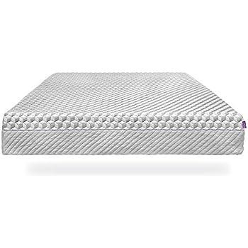 Layla Sleep Memory Foam Mattress - Dual Firmness: 1 Side Soft - Other Side Firm, Copper keeps you Cooler!