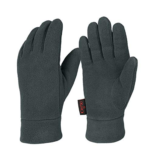 (Winter Gloves For Men And Women Hand Protection Polar Fleece And Cotton Lining)