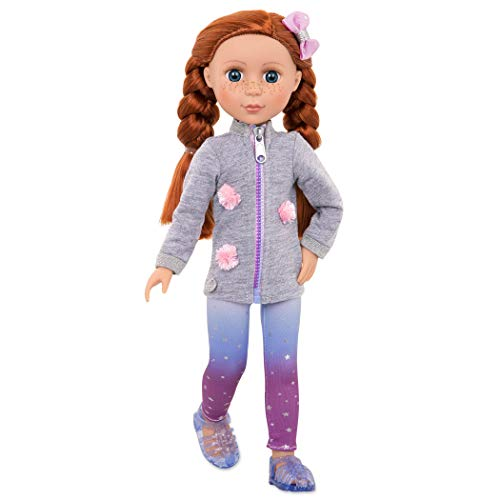 - Glitter Girls Dolls by Battat - Eline 14-inch Poseable Fashion Doll - Dolls for Girls Age 3 and Up