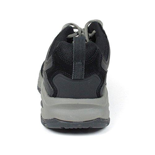 Skechers Herren Freefall Aufschwung Memory Foam Sneaker Schuh Schwarz