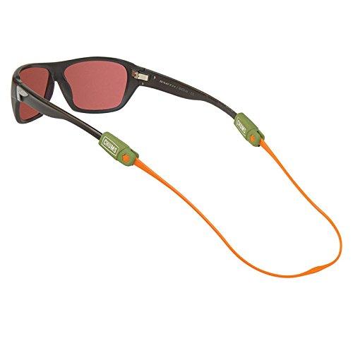 - Chums Ratchet Eyewear Retainer-Olive/Orange