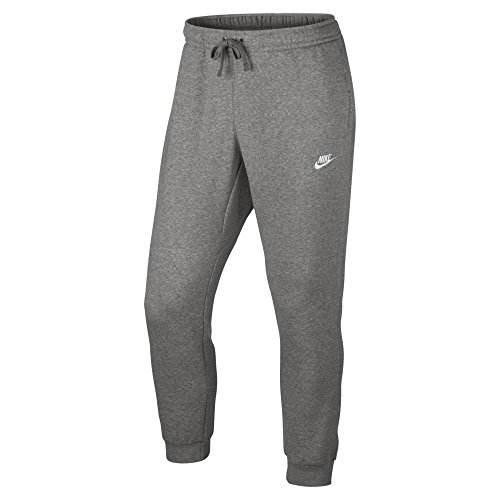 Nike Mens Sportswear Jogger Pants Dark Grey Heather/White X-Large