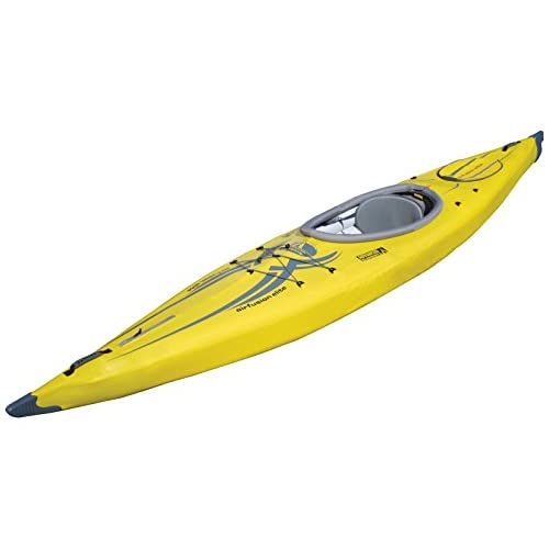 41u kcC5W6L. SS500  - Advanced Elements Unisex Adult AirFusion Elite Kayak  - Yellow,