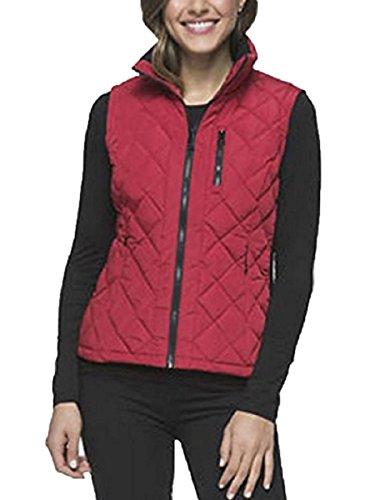 Quilted Side Zip Vest - 4