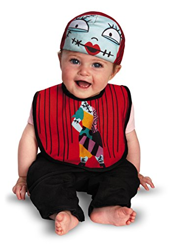 Nightmare Before Christmas Zero Costume Baby (Disney Disguise The Nightmare Before Christmas Sally Infant Bib and Hat, 0-12)