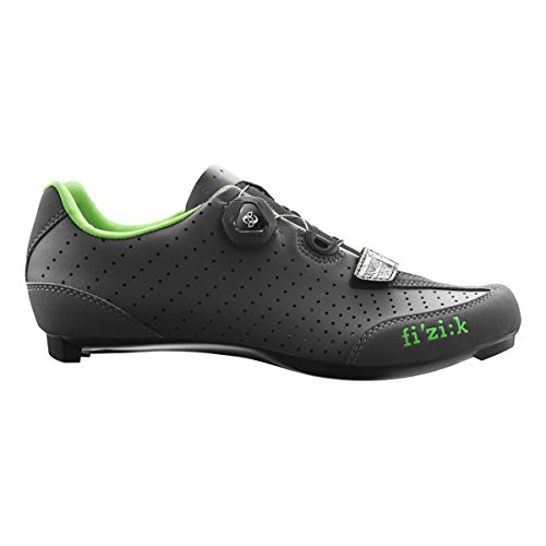 Fizik R3B - Zapatillas - negro 2017 Anthracite Green Fluo