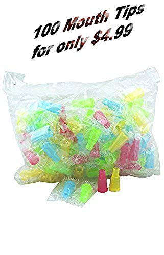 Mouth Tips for Hookah, Tips Disposable Shisha Nargila, 100 Pieces (100)