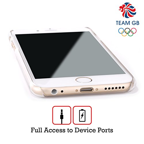 Official Team GB British Olympic Association Union Jack Logo Hard Back Case for Apple iPhone 6 Plus / 6s Plus