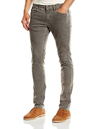 Grigio V76 Worn Skinny Jeans Uomo da Vans Grey Jeans 7ZBqw4