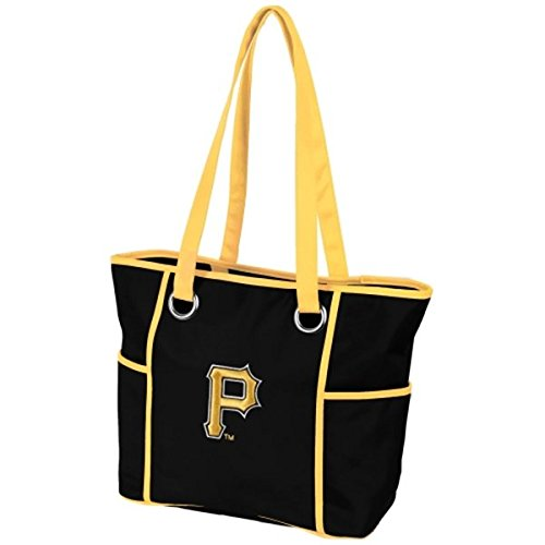 Charm14 MLB Pittsburgh Pirates Deluxe Tote Bag with Embroidered Logo
