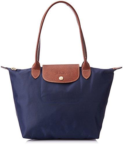 Longchamp Le Pliage Tote Shoulder Bag (Medium Navy Blue)