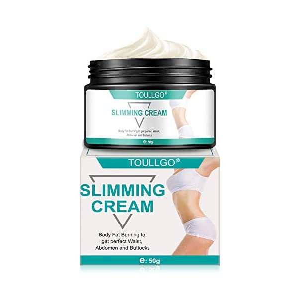 Slimming Cream, Hot Cream, Fat Burning Cream, Best Weight Loss Cream, Slimming Tightening Cream for Shaping Waist, Abdomen and Buttocks, 50g 41u mrhE8TL