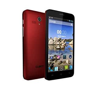 """Cubot Bobby 3G Smartphone Android 4.2 MTK6572W A7 Dual Core 1.3GHz 5 """"IPS QHD 8MP/2MP 512MB RAM 4GB ROM + GPS Bluetooth Rojo"""