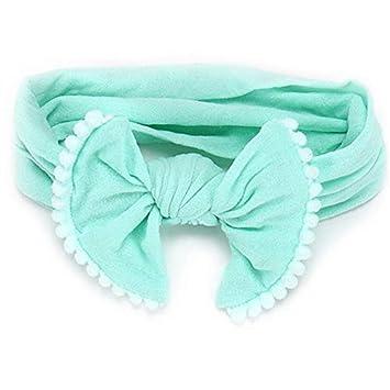 Amazon.com  Laliva New 10pcs lot Girls Knot Bow pantyhose Nylon Headbands  Elastic Head Bands tooth bandeau bebe Turban Hair Accessories - (Color  6)   Beauty 8f52ced5722