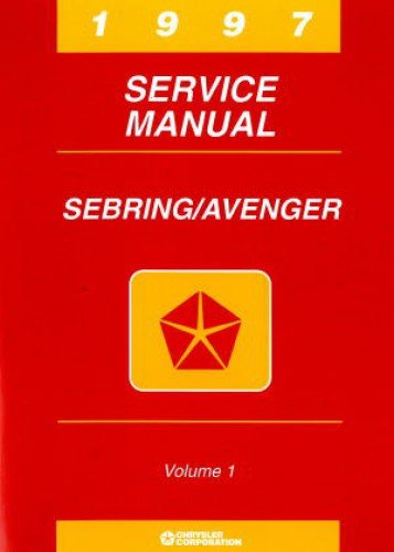 81-270-7118 Used Chrysler Sebring and Dodge Avenger Service Manual ()