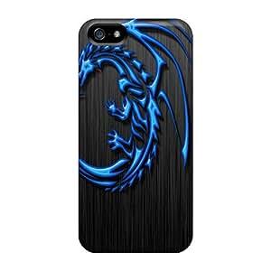 BretPrice QZK5428SqcU Case Cover Skin For Iphone 5/5s (tribal Dragon)