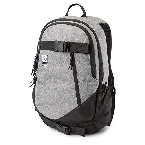 Volcom Men's Substrate Backpack, black grey, One Size Fits All