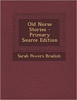 Book Old Norse Stories