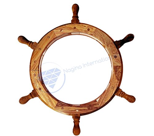 ships wheel picture frame - 5