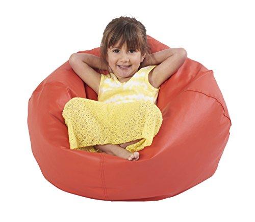 ECR4Kids Junior Classic Bean Bag Chair Red 26
